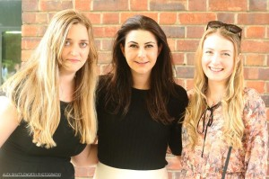 Newly qualified solicitors Antonia and Natasha  Photo by Alex Shuttleworth Photography